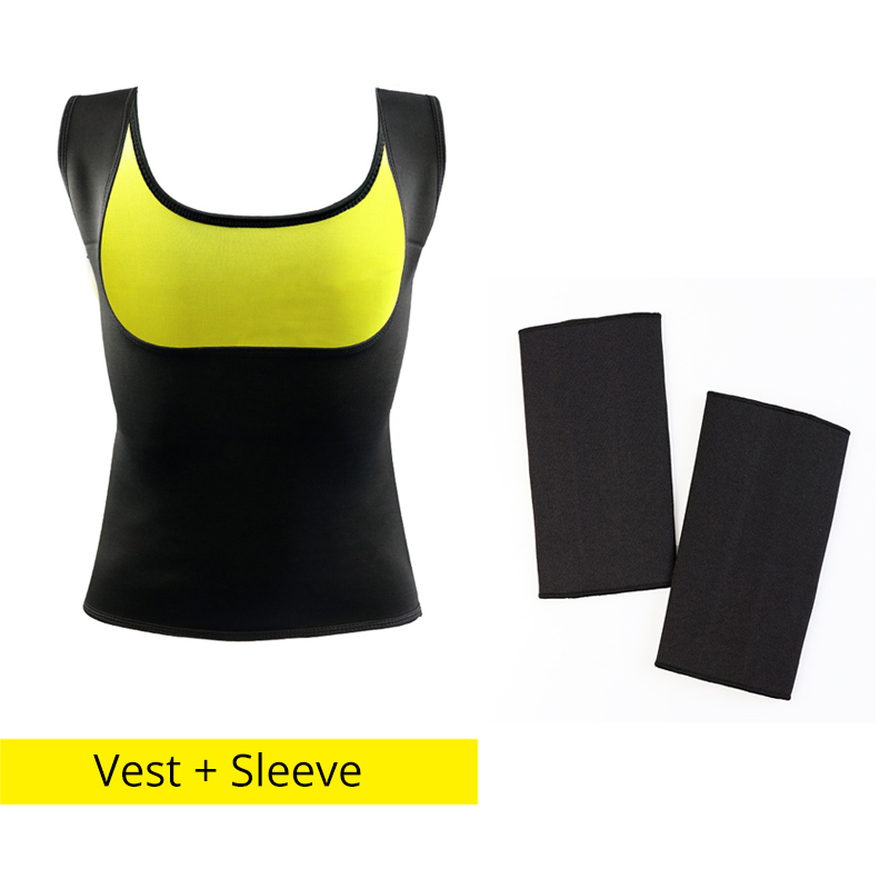 a0416f62d1 ... Hot Thermo Neoprene Sweat Shaper Slimming Pants   Vest   Sleeve Super  Stretch control. 🔍. Previous  Next