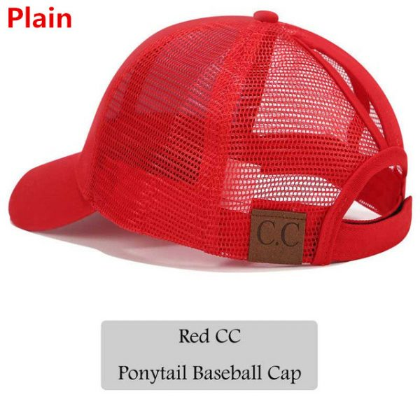 1e5791dbedb7 ... CC Glitter Ponytail Baseball Cap Women Snapback Hat Summer Messy Bun  Mesh Hats Casual Adjustable Sport Caps. 🔍. Previous; Next